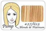 Brybelly Holdings PRPP-27613 No. 27-613 Dark Golden Blonde with Platinum Highlights Pro Pump