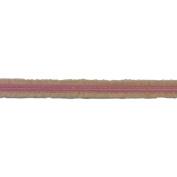 C'est Joli! Satin A Boucles Claire Satin with Loops, Pink, 1cm x 3.28 yds