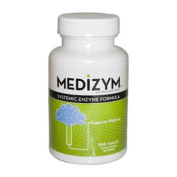 Naturally Vitamins, Medizym, Systemic Enzyme Formula, 100 Tablets