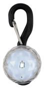Nite-Ize PetLit LED Collar Light, White LED, Jewel Crystal