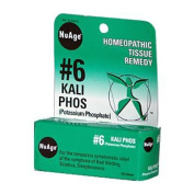 Nuage Labs 0346684 6 Potassium Phosphate - 125 Tablets