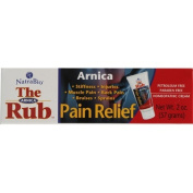 Natra-Bio 0809962 The Arnica Rub Pain Relief Cream - 2 oz