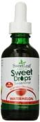 Sweet Leaf 1127273 Wisdom Natural SweetLeaf Liquid Stevia Watermelon - 60ml