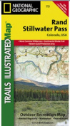 National Geographic TI00000115 Map Of Rand-Stillwater Pass - Colorado