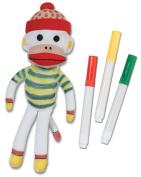 Sock Monkey Doodle Pal-18cm
