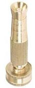 Orbit 10cm Brass Adjustable Hose Spray Nozzle 58044