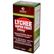 Genceutic Naturals Lychee Super Fruit Supplement, 90 Vcaps, 500 Mg