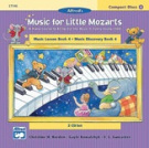 Alfred 00-17190 Music for Little Mozarts- CD 2-Disk Sets for Lesson and Discovery Books- Level 4 - Music Book