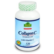 Alfa Vitamins CH17642 Collagen Hydrolysate with Vitamin C - 120 Capsules