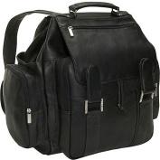 David King& Co 329B Top Handle Backpack- Black