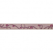 Cest Joli 112115448.2ln Akoya Braid Ribbon 3-20cm . x 3.28 Yards-Pink