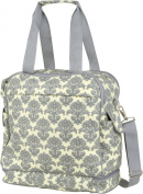 The Bumble Collection Camille Getaway Bag, Yellow Filagree