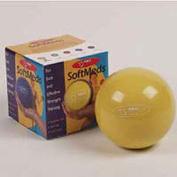 Ball Dynamics International FBSM1 FitBALL SoftMeds Yellow 0.5 KG -1.1 LB -Retail box - PVC -Sand