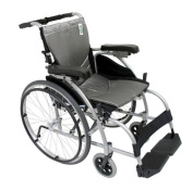 Karman Healthcare S-Ergo106F18SS Ergonomic Wheelchair-Pearl Silver