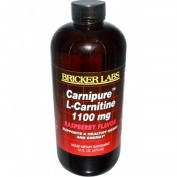 Bricker Labs Carnipure L-Carnitine Raspberry Flavour, 16 Fluid Ounce
