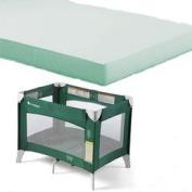 Foundations 51-NM-G1-MT Ultra Portable Crib Mattress - Green