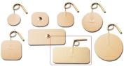 Pepin WT13 Advantrode Tan Tricot Electrode - 4.4cm X 9.5cm Rectangle Prewired - 20 Packs Of 4