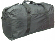 McBrine Luggage P2487-BK 33 Inch Nylon Extra Large Duffle Bag in Black