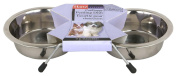 Hartz Living Stainless Steel Pet Feeding Dishes 98776
