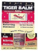 Tiger Balm 0926576 Ultra Strength Pain Relieving Ointment 20ml - 18 g - Case of 6 - 20ml