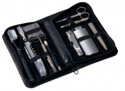 Royce Leather 507-BLACK-5 Travel & Groom Kit - Black