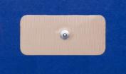 Pepin BST13 Advantrode Skin Friendly Blue Gel Electrode - 4.4cm X 9.5cm Rectangle Snap - 20 Packs Of 4