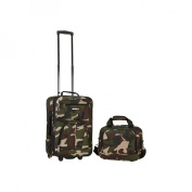 ROCKLAND F102-CAMO 2 PC CAMO LUGGAGE SET