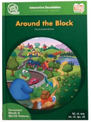 Leap Frog 90573 Tag InterACTIVE Decodable Level 2 Book Around the Block