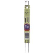Boye 70416 Single Point Aluminium Knitting Needles 25cm . -Size 4