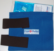 Cool Relief CRSK-2 Soft Gel Knee Ice Wrap by Cool Relief -2 Removeable Inserts