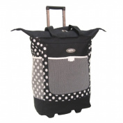 Luggage America RS-100-BK Sports Plus Rolling Shopper Tote