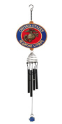Red Carpet Studios Patriot Wind Chimes, 50cm Military Chime, Marines