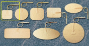 Pepin WTS15 Advantrode Tan Spunlace Electrode - 3.8cm X 3.8cm Square Prewired - 20 Packs Of 4