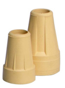Crutch Tips-Standard Pair - Pair Tan - 1550