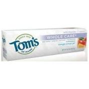 Toms Of Maine 0777987 Whole Care Gel Toothpaste Orange Mango - 4.7 oz