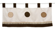 Pam Grace Creations VAL-CAPPUCCINO CAPPUCCINO VALANCE - brown