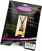 Gabrialla Graduated Medium Compression Pantyhose (15-20 Mmhg), X-Tall Black