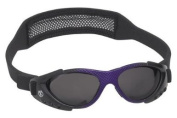 Real Kids Shades 712XTRSBLKPURP Xtreme Sport Purple Matte Metallic & Shiny Black Frame with Black Mesh Band 7-12 Years with Microfiber Pouch