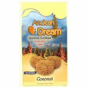 Andean Dream 64335 Quinoa Coconut Cookies Gluten Free