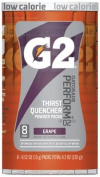 Gatorade 308-13167 Gatorade 15ml G2 Grape- Ct- 8 Pk -