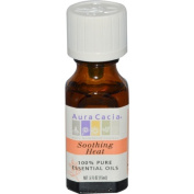 Aura Cacia Soothing Heat Essential Oil Blends 1/2 oz. bottle 191147