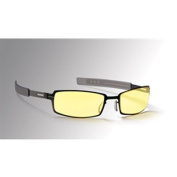 Gunnar Optiks PPK-00101 Optiks eSport Internal Digital Performance Eyewear PPK Style Gloss Onyx Colour Frame Amber Lens