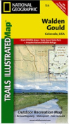 National Geographic TI00000114 Map Of Walden-Gould - Colorado
