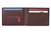 Rogue Wallet WALBIFOLDBLK6 Rectangular Credit Card Wallet