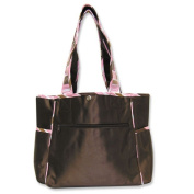 Trend Lab Maya Tulip Tote Bag with Changing Pad