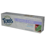 Tom's of Maine Whole Care Fluoride Toothpaste, Wintermint, 140ml