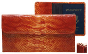 Raika NI 174 RED Travel Pouch with Passport - Red