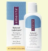 Emerita Sexual Function Natural Lubricant - The Original Natural Personal Lubricant with Vitamin E 2 fl. oz. 213703