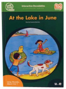 Leap Frog 90578 Tag InterACTIVE Decodable Level 3 Book At the Lake in June