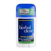 Herbal Clear 0485292 Mountain Air Fresh 24 Hour Natural Body Deodorant - 1.8 oz